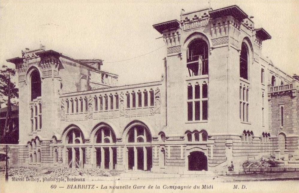 l'histoire de la gare du midi